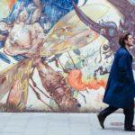 """Luca Marinelli in un momento """"errante"""" di Ricordi? di Valerio Mieli (Italia, Francia 2018)"""