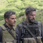 Oscar Isaac e Ben Affleck in un momento di Triple Frontier di J.C. Chandor (USA, 2019)