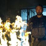 Violenza per Ben Affleck durante Triple Frontier di J.C. Chandor (USA, 2019)
