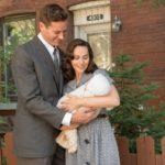 Armie Hammer e Felicity Jones genitori felici in Una giusta causa di Mimi Leder (On the Basis of Sex, USA 2018)