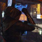 Jeremy Renner in azione durante Avengers: Endgame di Anthony Russo e Joe Russo (USA, 2019)