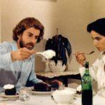 Nanni Moretti e Laura Morante a tavola durante Bianca di Nanni Moretti (Italia, 1984)