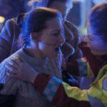 Momenti drammatici nel corso di Blind Spot di Tuva Novotny (Blindsone, Norvegia 2018)