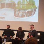 Ancora un'immagine dal panel dedicato al documentario nel corso dell'Irish Film Festa 2018