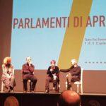 Un momento della quarta giornata di Parlamenti di aprile 2019 a Ravenna