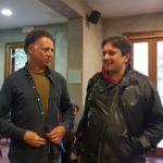 Jacopo Quadri con l'inviato di CineClandestino Stefano Coccia