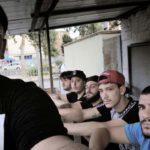 Autoscatto di gruppo nel documentario Selfie di Agostino Ferrente (Italia, Francia 2019)