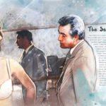 Un'altra, artistica, immagine realizzata da Luisa Mazzone ispiratasi al film Il fischio al naso di Ugo Tognazzi (Italia, 1967)