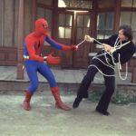 La cattura di un criminale ne L'uomo ragno di E.W. Swackhamer (The Amazing Spider-Man, USA 1977)