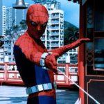 Il celebre super-eroe in azione durante L'uomo ragno di E.W. Swackhamer (The Amazing Spider-Man, USA 1977)