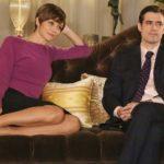 Francesca Cavallin e Flavio Parenti in un'immagine tratta da Mentre ero via di Michele Soavi (serie tv, Italia 2019)