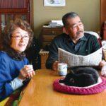 La coppia di anziani protagonista di Only the Cat Knows di Kobayasi Syoutaro (Giappone, 2019)