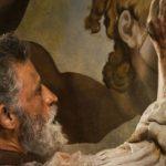 Enrico Lo Verso in un momento di Michelangelo - Infinito di Emanuele Imbucci (Italia, Città del Vaticano 2018)