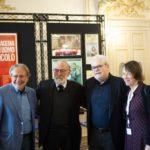 Felice Laudadio, Renato Carpentieri e Roberto Andò in un'immagine dal Bif&st 2019