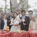 Scene da un matrimonio in Three Husbands di Fruit Chan (Hong Kong, 2018)