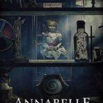 La locandina originale di Annabelle 3 di Gary Dauberman (Annabelle Comes Home, USA 2019)