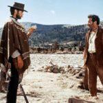 Clint Eastwood ed Eli Wallach in un momento de Il buono, il brutto e il cattivo di Sergio Leone (Italia, Spagna, Germania Ovest 1966)