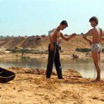 Momenti sulla spiaggia ne Il corriere di Karen Sachnazarov (Kuryer, Unione Sovietica 1986)