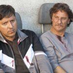 Ricky Memphis e Giorgio Tirabassi in un momento de Il grande salto di Giorgio Tirabassi (Italia, 2019)