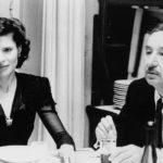 Fanny Ardant e Philippe Noiret in un momento de La famiglia di Ettore Scola (Italia, Francia 1987)