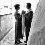 Sophia Loren e Marcello Mastroianni in un momento pregnante di Una giornata particolare di Ettore Scola (Italia, 1977)