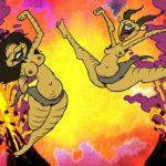 """Una """"colorita"""" immagine tratta dal corto d'animazione Savage Death Valley di Waldemar Schuur (Olanda, 2019)"""