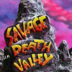 Un poster promozionale del cortometraggio animato Savage Death Valley di Waldemar Schuur (Olanda, 2019)