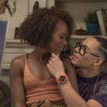 DeWanda Wise con Anthony Ramos in un momento di She's Gotta Have It, serie tv creata da Spike Lee (USA, 2017-2019)