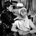 Tina Pica e Alberto Sordi in un momento di Un eroe dei nostri tempi di Mario Monicelli (Italia, 1955)