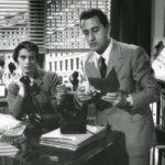 Franca Valeri e Alberto Sordi in Un eroe dei nostri tempi di Mario Monicelli (Italia, 1955)