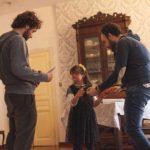 Un'immagine dal set di Aggrappati a me, cortometraggio di Luca Arcidiacono (Italia, 2018)