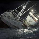 Barca nella tempesta in The Deep di Baltasar Kormákur (Djúpið, Islanda 2012)