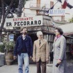 Una datata immagine di Claudio Caligari nel documentario Se c'è un aldilà sono fottuto. Vita e cinema di Claudio Caligari di Simone Isola e Fausto Trombetta (Italia, 2019)