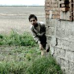 Il giovanissimo Filippo Franchini in un'eloquente immagine da Il signor Diavolo di Pupi Avati (Italia, 2019)