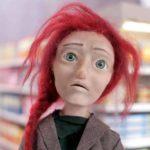 Il personaggio principale del corto d'animazione Inanimate di Lucia Bulgheroni (UK, 2018)
