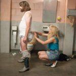 Situazione imbarazzante per Zach Galifianakis e Kristen Wiig in Masterminds - I geni della truffa di Jared Hess (USA, 2016)