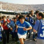 Il fuoriclasse in maglia Napoli nel documentario Diego Maradona di Asif Kapadia (UK, 2919)