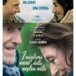 La locandina italiana de I migliori anni della nostra vita di Claude Lelouch (Les plus belles années d'une vie, Francia 2019)