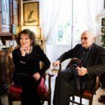 Claudia Cardinale e Piero Tosi in un momento del documentario Il principe delle pezze di Alessandro Di Ronza (Italia, 2019)