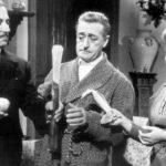 Peppino De Filippo, Totò e Titina De Filippo in un momento di Totò, Peppino e i fuorilegge di Camillo Mastrocinque (Italia, 1956)