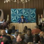 Himesh Patel in conferenza stampa durante Yesterday di Danny Boyle (UK, Russia, Cina 2019)