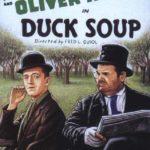 La locandina del corto Duck Soup di Fred Guiol (USA, 1927)