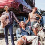 John Turturro, Bobby Cannavale e Audrey Tautou in un quadretto tratto da Jesus Rolls - Quintana è tornato! di John Turturro (The Jesus Rolls, USA 2019)