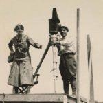 Un'altra imamgine dal dietro le quite di Joan the Woman di Cecil B. DeMille (USA, 1916)