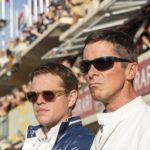 Matt Damon e Christian Bale in un momento di Le Mans '66 - La grande sfida di James Mangold (Ford v Ferrari, USA, Francia 2019)