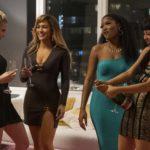 Le protagoniste del film in un momento de Le ragazze di Wall Street di Lorene Scafaria (Hustlers, USA 2019)
