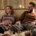 Charlize Theron e Seth Rogen, protagonisti della commedia Non succede, ma se succede... di Jonathan Levine (Long Shot, USA 2019)