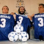 """Carreras, Pavarotti e Domingo sono """"I tre tenori"""" nel documentario Pavarotti di Ron Howard (USA, UK 2019)"""