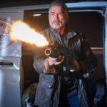 Arnold Schwarzenegger in azione durante Terminator - Destino oscuro di Timi Miller (Terminator: Dark Destiny, USA, Cina 2019)