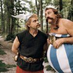 Ancora i due protagonisti in un'immagine tratta da Asterix alle Olimpiadi di Frédéric Forestier e Thomas Langmann (Astérix aux jeux olympiques, Francia, Italia, Germania, Spagna, Belgio 2008)